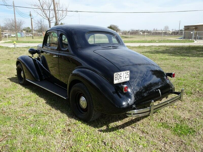 true moonshine runner 1938 Chevy Business Coupe custom