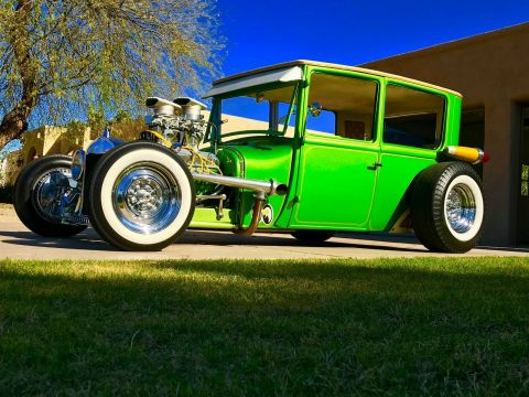 unique beauty 1926 Ford Tudor custom for sale