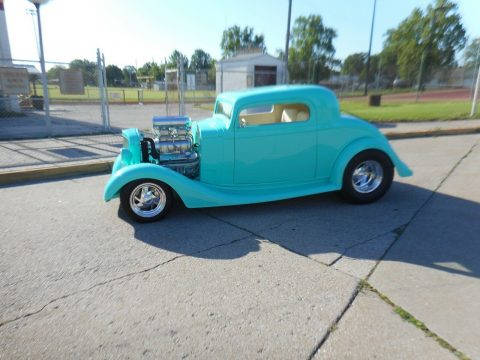 well modified 1935 Chevrolet custom for sale