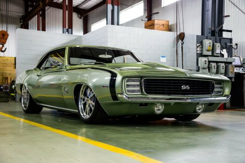 badass 1969 Chevrolet Camaro RS/SS custom for sale