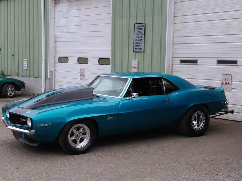 drag car 1969 Chevrolet Camaro Z28 custom for sale