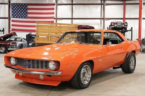 nicely modified 1969 Chevrolet Camaro ZL1 custom for sale