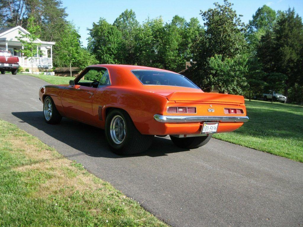 pro street 1969 Chevrolet Camaro custom