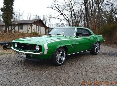 sharp 1969 Chevrolet Camaro SS 396 custom for sale