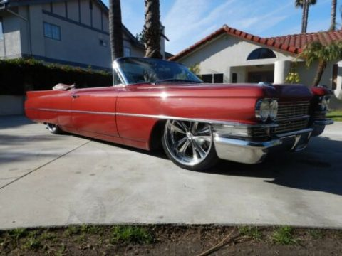 air ride 1963 Cadillac Deville Convertible custom for sale
