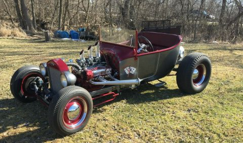 cool classic 1923 Ford Roadster custom for sale
