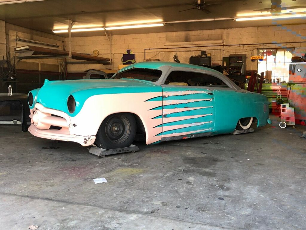 project 1949 Ford custom