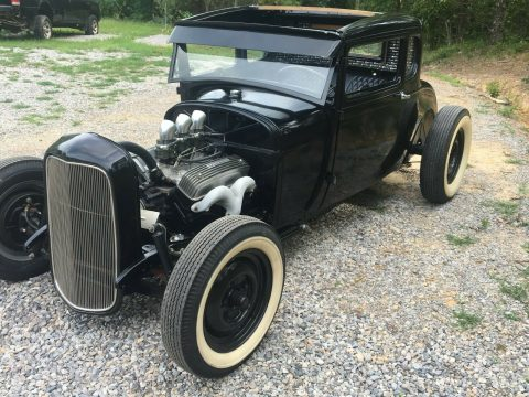 chopped 1928 Ford Model A custom for sale