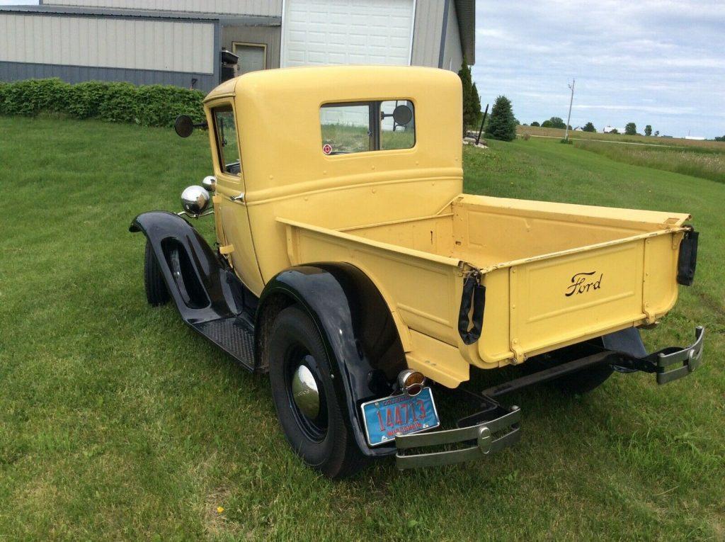 flathead 1931 Ford Pickup custom