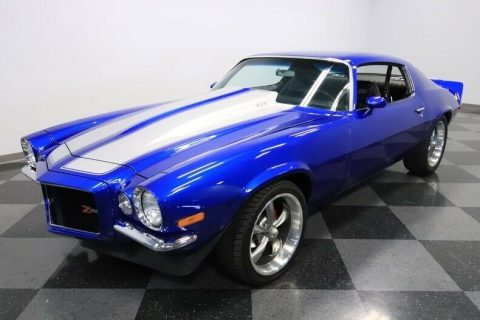 freshly restored 1970 Chevrolet Camaro Z/28 Tribute custom for sale