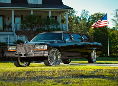 restored 1987 Cadillac Limousine custom for sale
