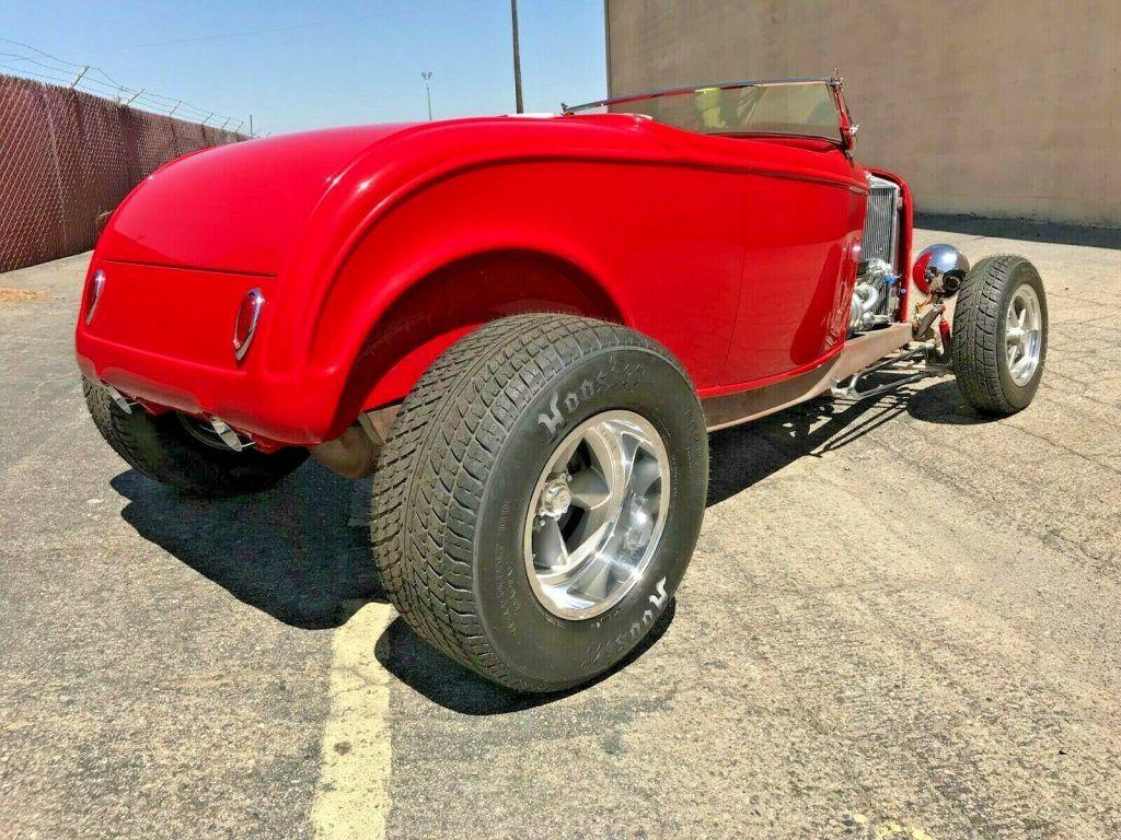 sharp 1932 Ford Roadster custom