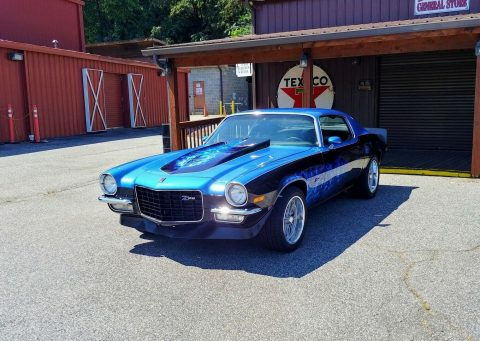 383 Stroker 4 Speed 1973 Chevrolet Camaro Z28 custom for sale