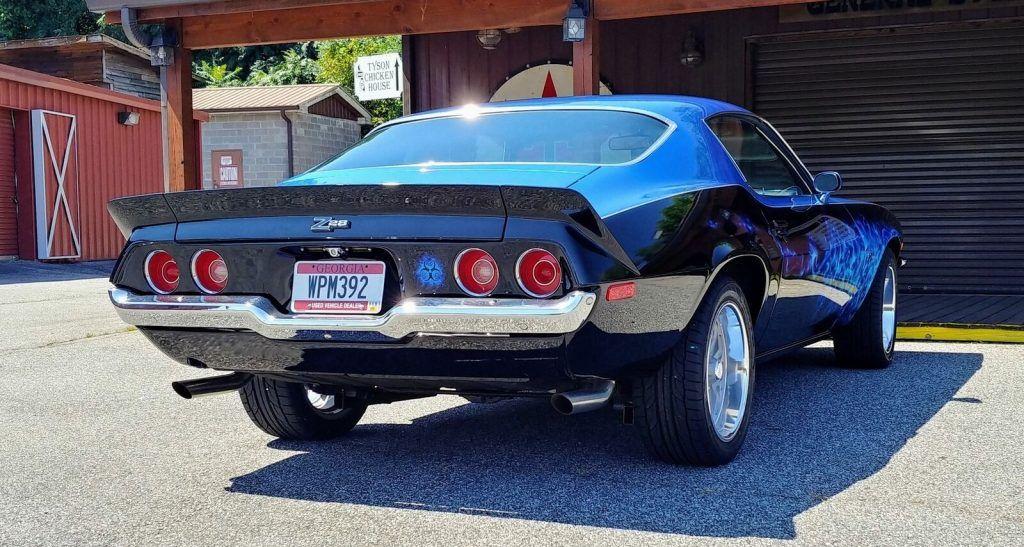 383 Stroker 4 Speed 1973 Chevrolet Camaro Z28 custom