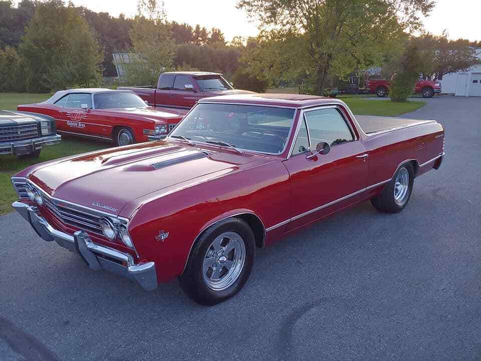 502 stroker 1967 Chevrolet El Camino custom