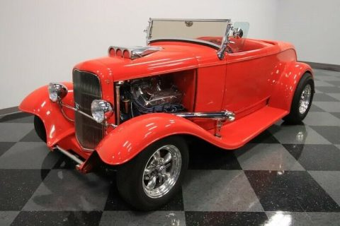big block 1932 Ford Model A Roadster custom for sale