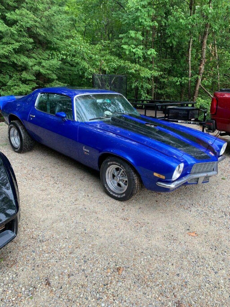 crate engine 1971 Chevrolet Camaro custom