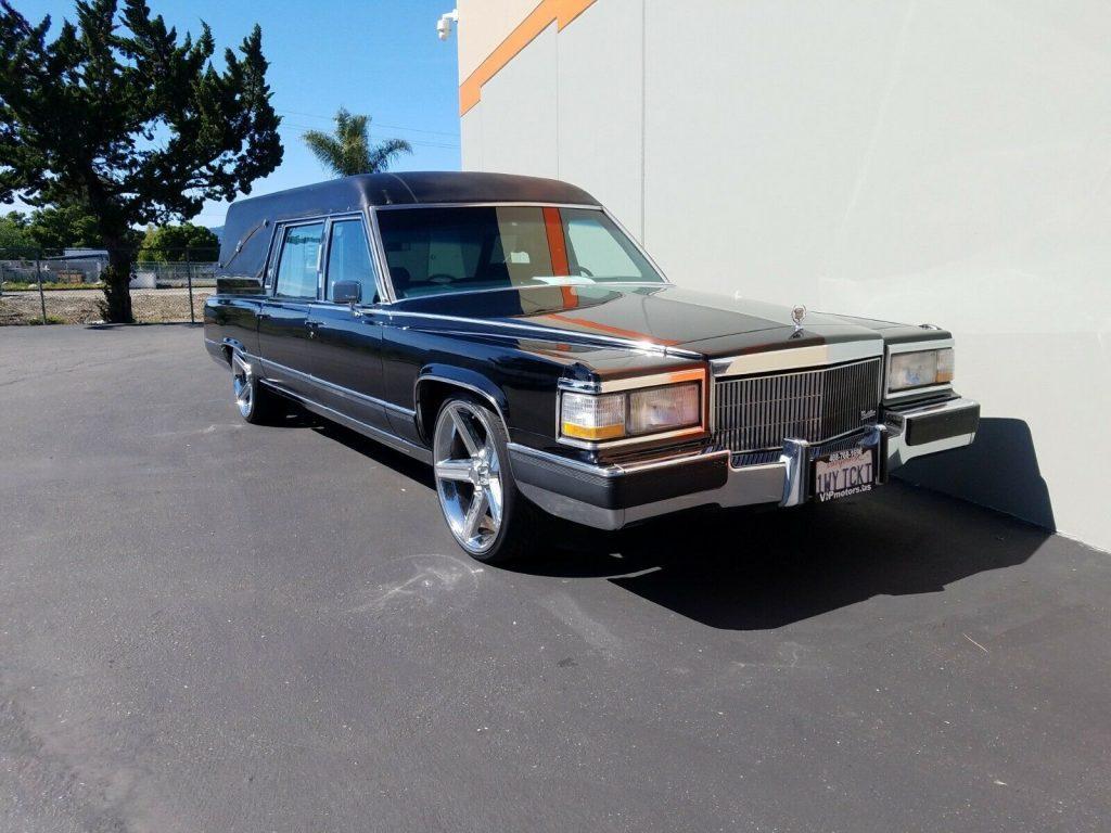 Hearse 1991 Cadillac Brougham custom