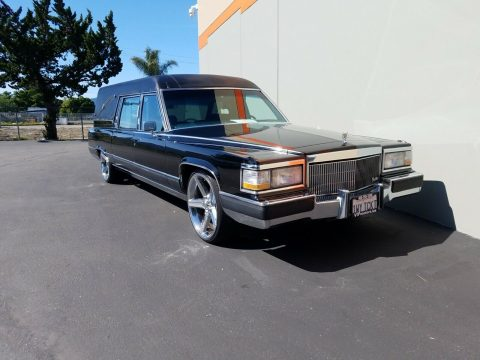 Hearse 1991 Cadillac Brougham custom for sale
