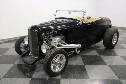 low miles 1932 Ford Roadster custom for sale