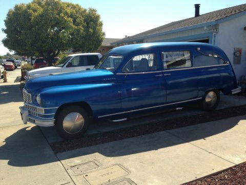modified 1948 Packard Henney Hearse custom for sale