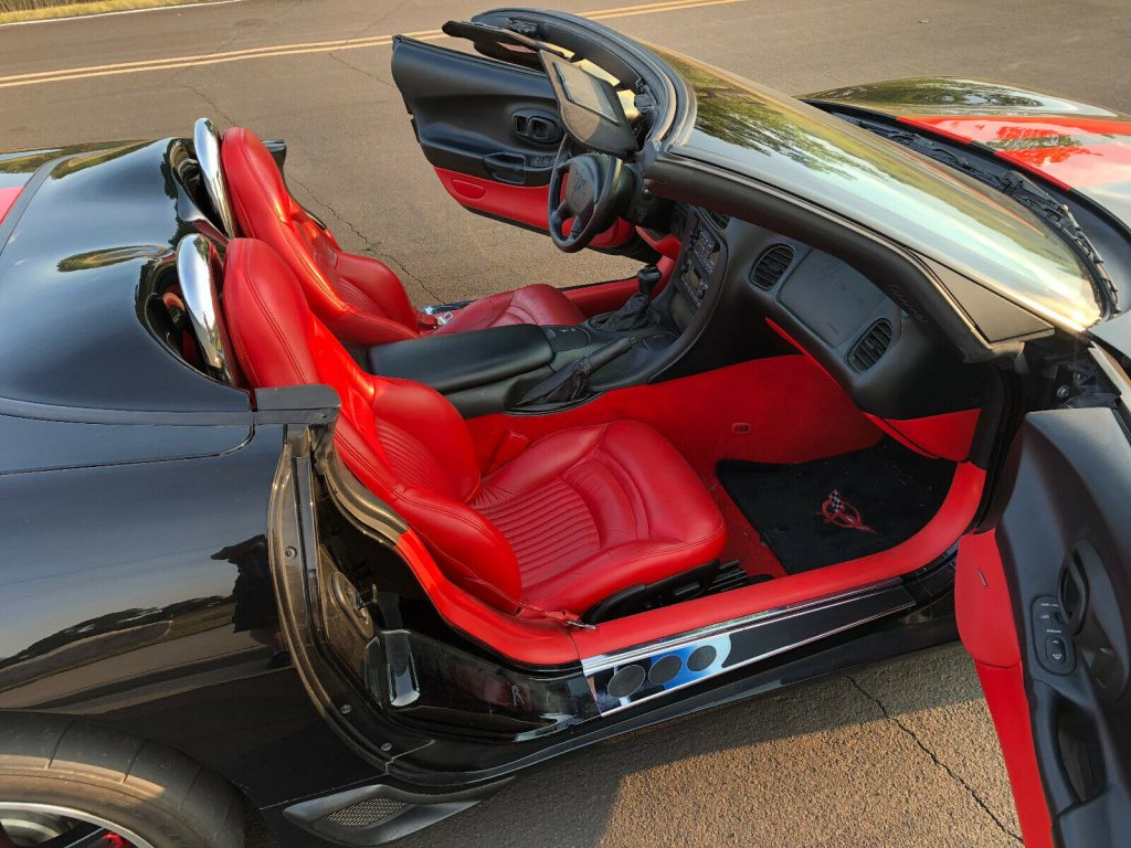 modified 2000 Chevrolet Corvette Convertible custom
