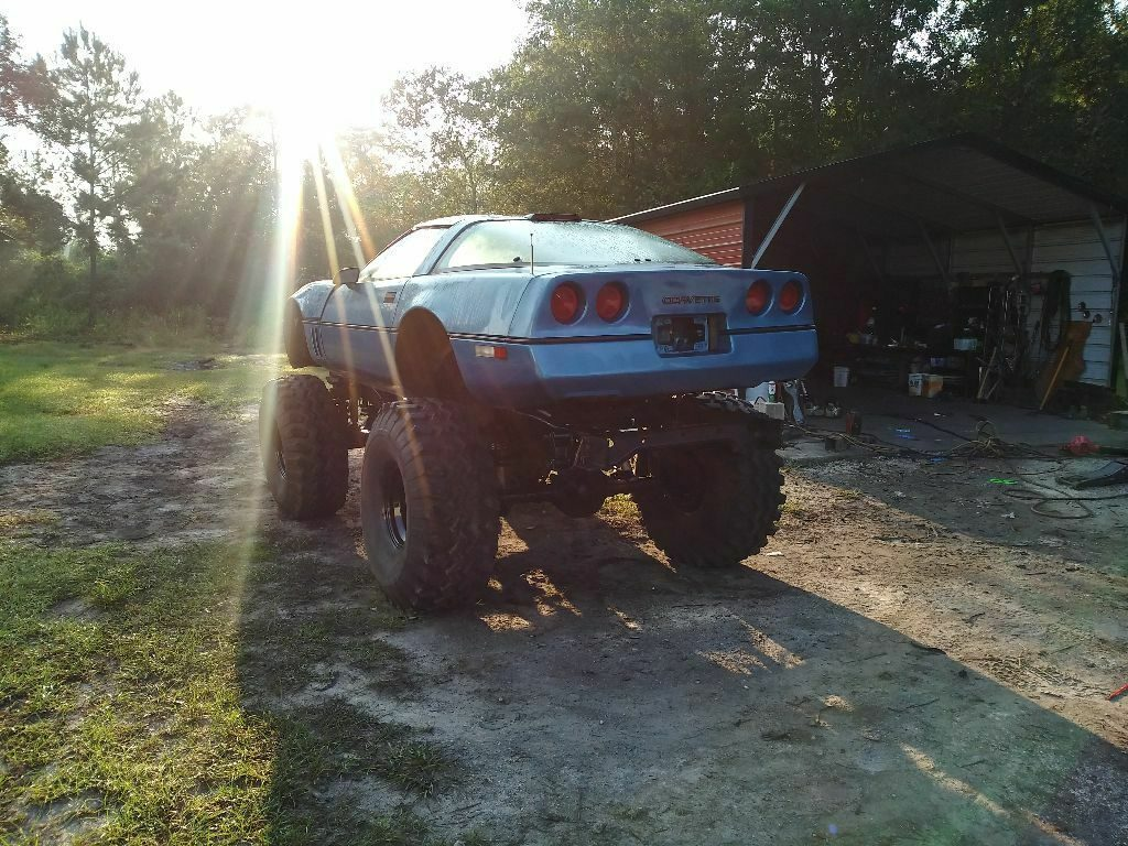 monster truck project 1990 Chevrolet Corvette custom