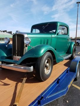 old school 1933 Chevrolet custom for sale