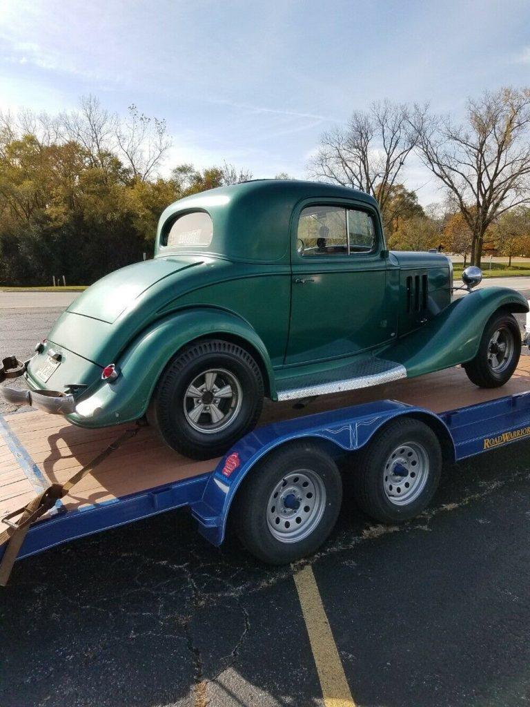 old school 1933 Chevrolet custom