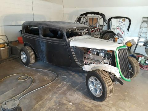 project 1934 Ford Tudor custom for sale
