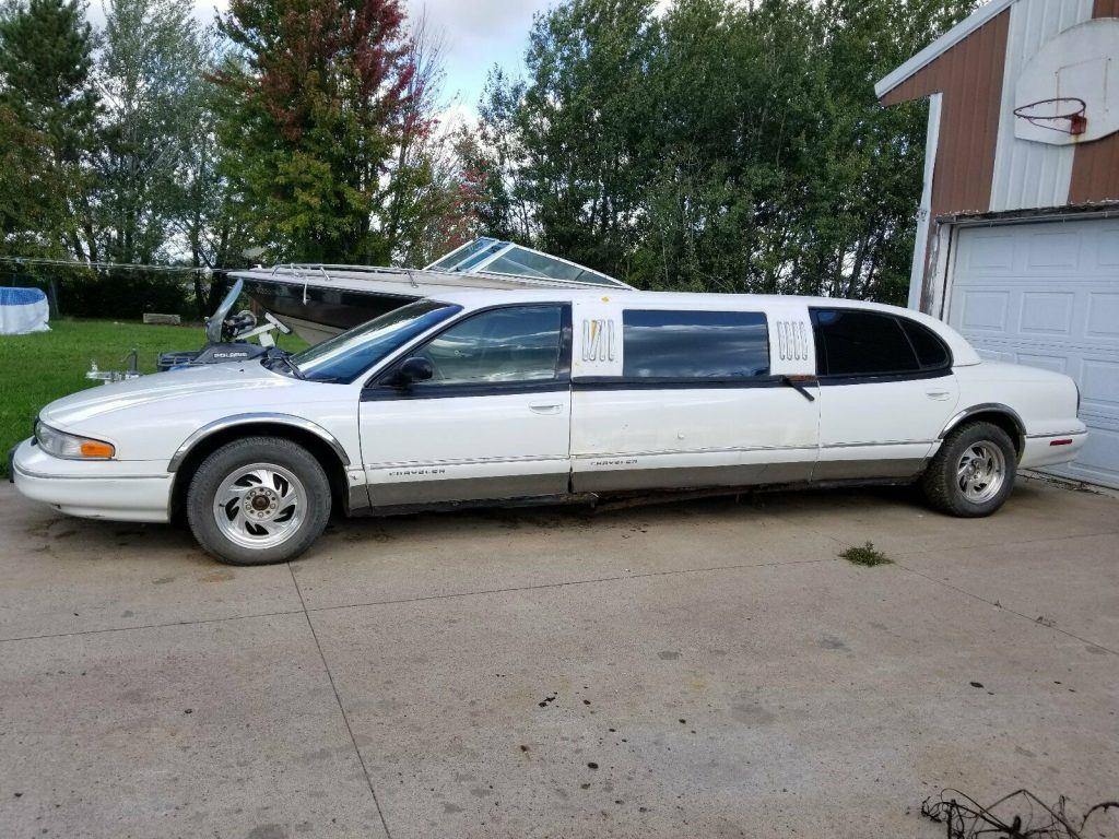 rare 1996 Chrysler LHS Limousine custom
