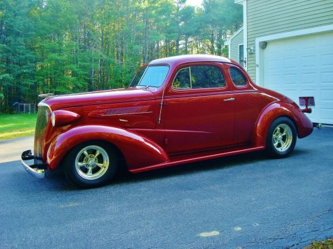 rust free 1937 Chevrolet 5 Window Coupe custom for sale