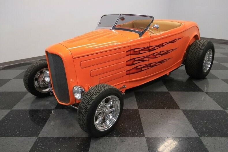 sharp 1932 Ford Roadster custom