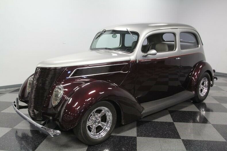 well built 1937 Ford Two Door custom