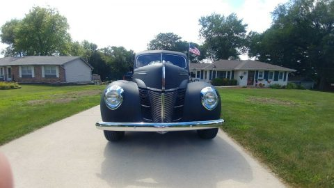 old school 1939 Ford Coupe Deluxe custom for sale