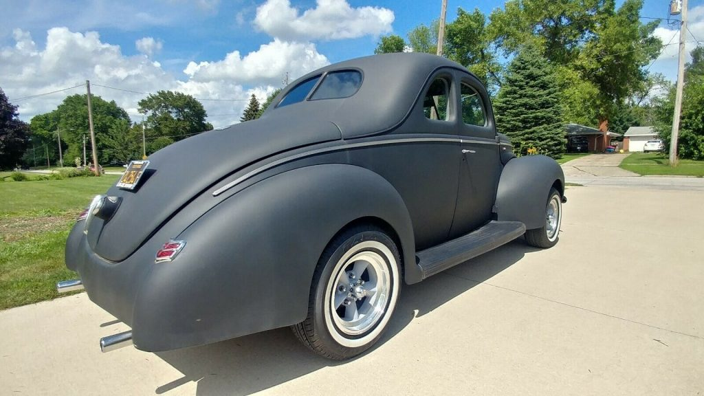old school 1939 Ford Coupe Deluxe custom