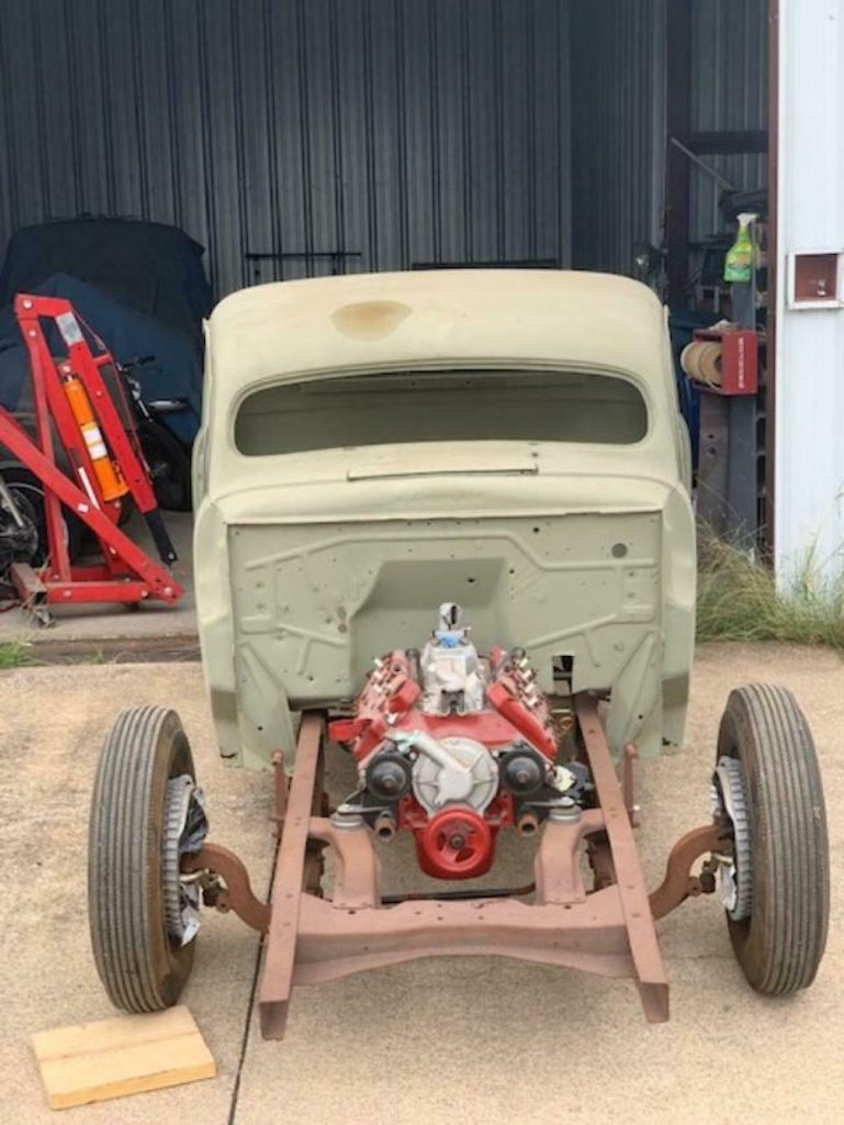 project 1948 Ford F 100 custom