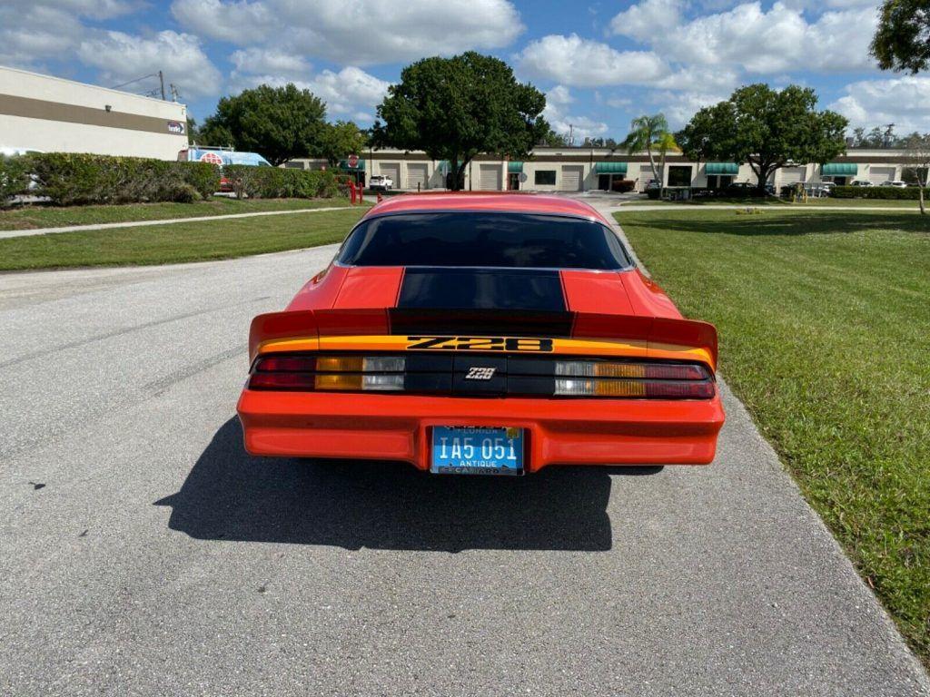 restored 1979 Chevrolet Camaro Z28 custom