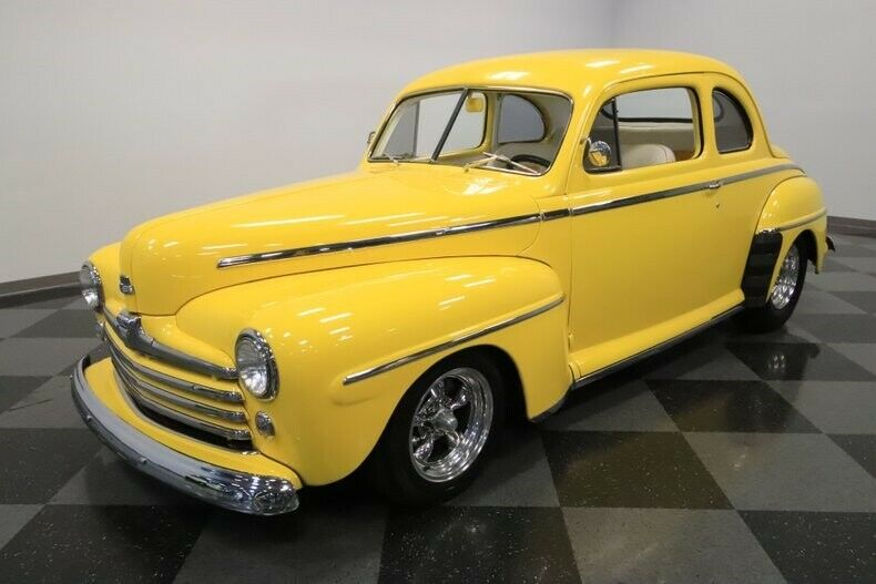 stroker powered 1947 Ford Coupe custom