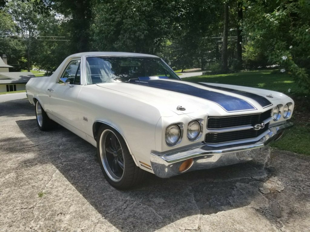 well modified 1970 Chevrolet El Camino SS 396 custom