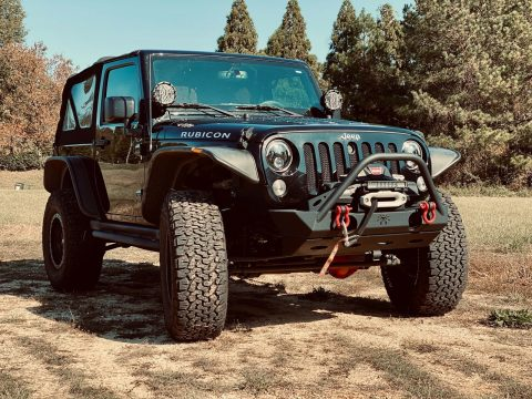 loaded 2015 Jeep Wrangler Rubicon 4×4 custom for sale