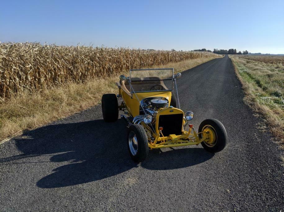 new tires 1923 Ford Model T custom