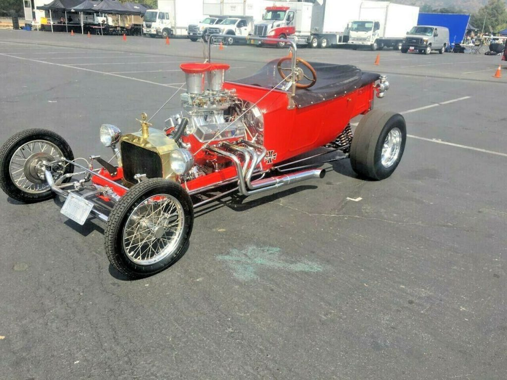 old school 1923 Ford T Bucket custom