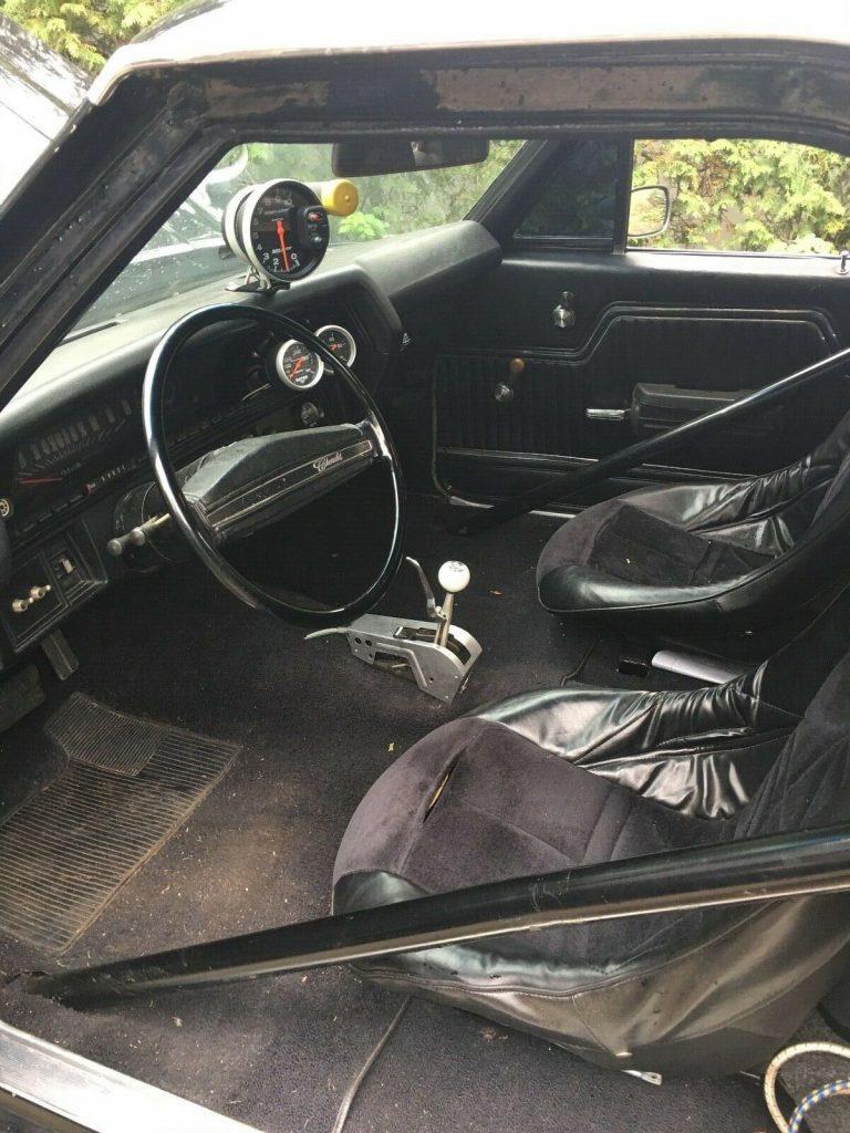 racer 1971 Chevrolet El Camino custom