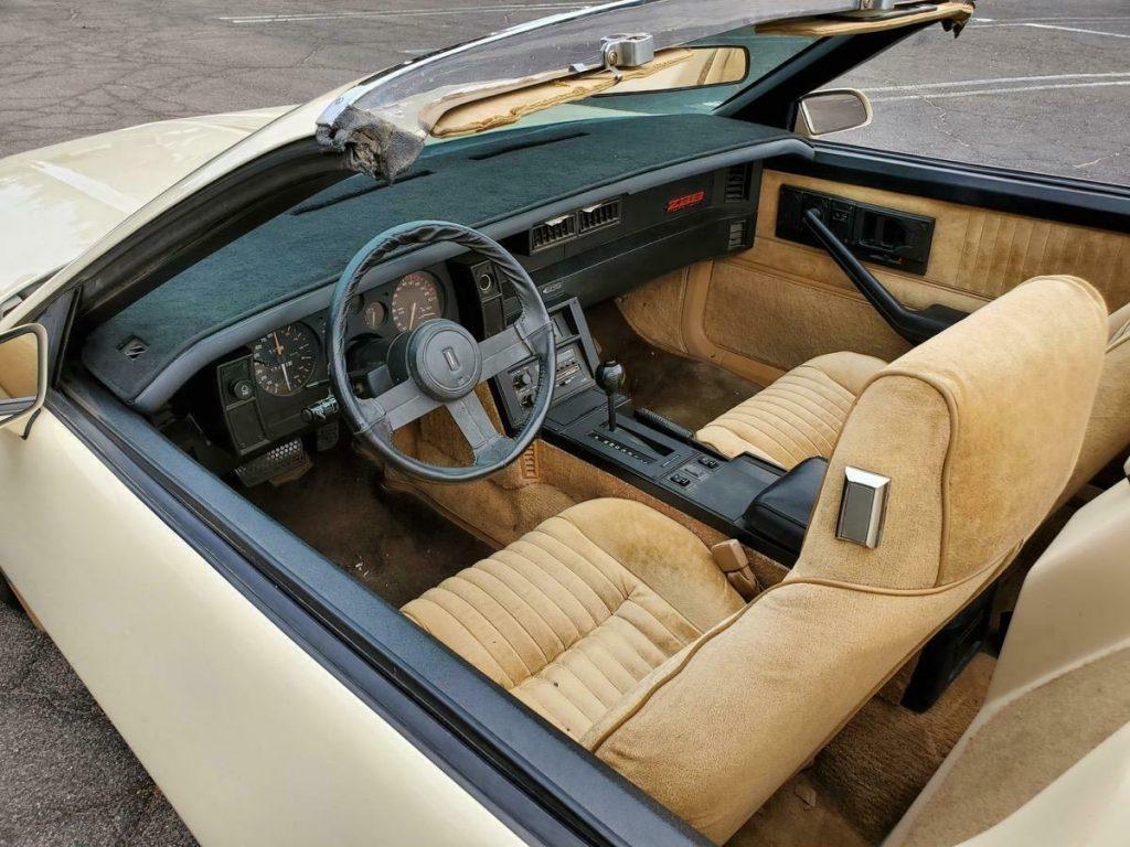 rare 1983 Chevrolet Camaro Z28 Autoform Speedster custom