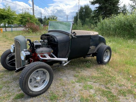 solid 1929 Ford Model A custom for sale