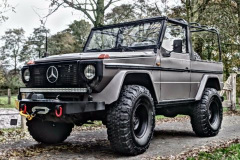 upgraded 1988 Mercedes Benz G Class custom for sale