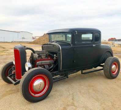 no issues 1931 Ford Model A Deluxe custom for sale
