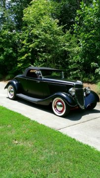 fully detailed 1934 Ford Model 40 custom for sale