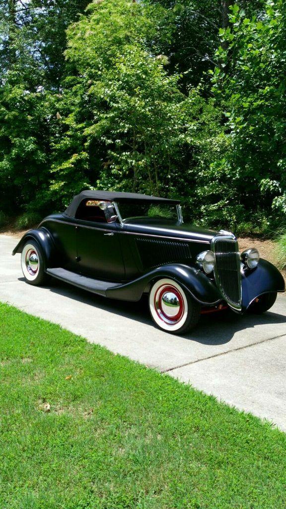 fully detailed 1934 Ford Model 40 custom